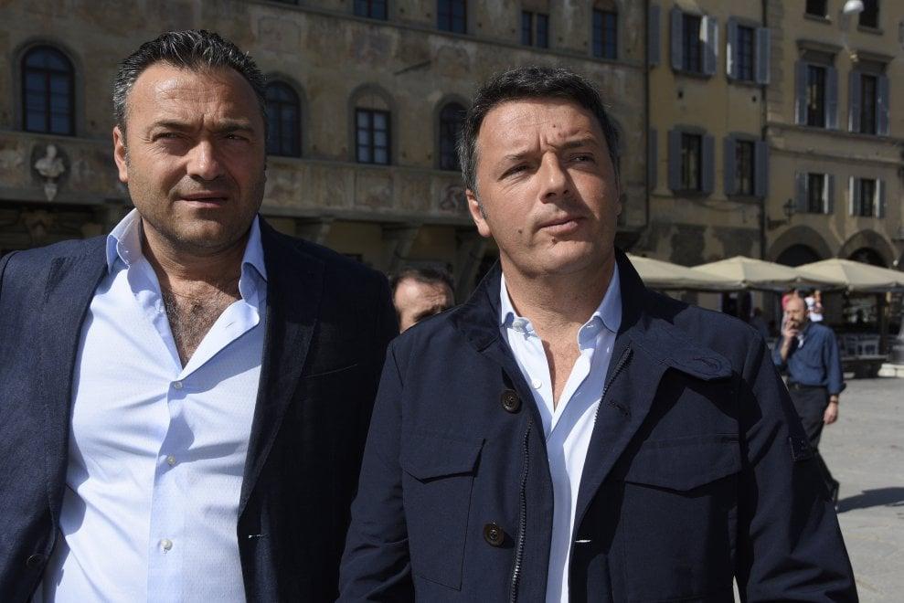 Firenze, Matteo Renzi in piazza per il 25 aprile