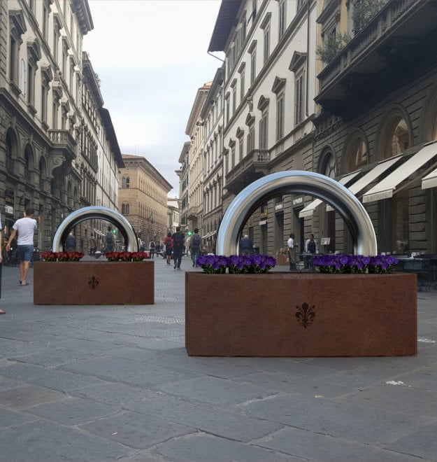 A Firenze arrivano i lucchettoni anti terrorismo
