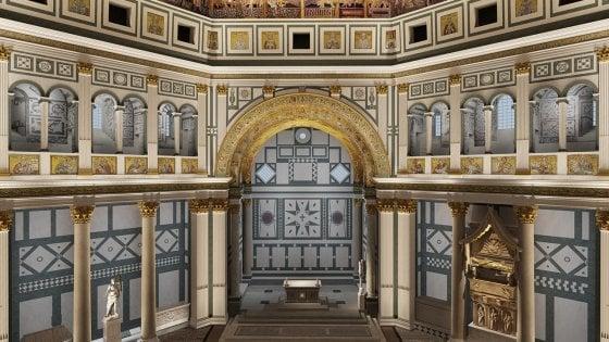 Firenze nuova luce per il battistero col progetto di storaro