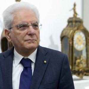 Il presidente della Repubblica Mattarella a Firenze il 10 maggio