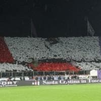La Curva Fiesole in silenzio per 20 minuti durante Fiorentina-Cagliari