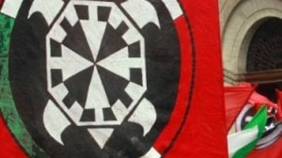 Presidio antifascista a Scandicci contro la sede di CasaPound