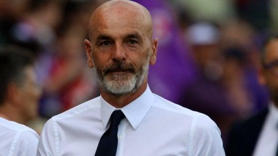 """Fiorentina, Pioli: """"Col Cagliari la gara più importante del campionato. Fondo per Vittoria Astori gesto nobile"""""""