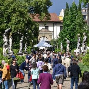 Le eccellenze dell'artigianato fiorentino in mostra al Giardino Corsini