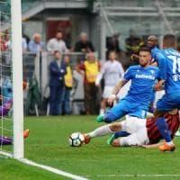 Triste finale di stagione: a San Siro sconfitta pesante, i Viola battuti
