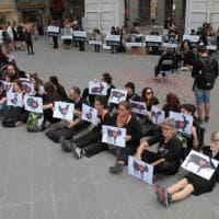 Protesta a Pisa: