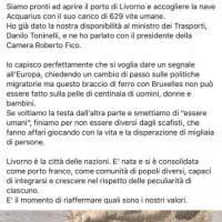 Livorno, il sindaco Nogarin (M5s):