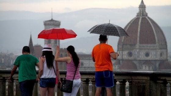 Maltempo, nuova ondata di temporali sulla Toscana