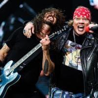 Firenze rock, Foo Fighters sul palco a sorpresa anche i Guns N' Roses