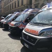 Firenze, inaugurate tre nuove ambulanze della Misericordia