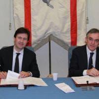Il sindaco Nardella e il presidente della Toscana Enrico Rossi: lettera