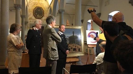 Firenze, restituito ai Rucellai dipinto del '500 rubato 29 anni fa