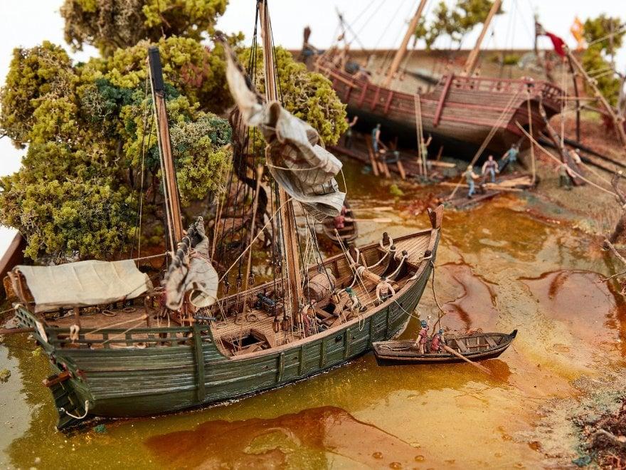 Velieri e grandi storie di mare in mostra a Cecina