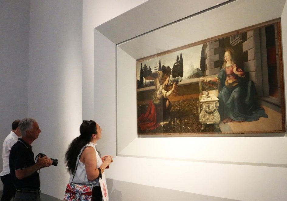 Firenze, agli Uffizi una sala dedicata ai capolavori di Leonardo