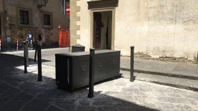 Firenze, a San Niccolò installata  la terza barriera antitraffico  ft