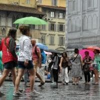 Maltempo, scatta il codice arancione in Toscana