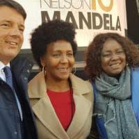 Da Firenze al Sudafrica per i cento anni dalla nascita di Mandela, c'è anche Matteo Renzi