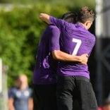 La ditta Chiesa & Simeone in gol contro il Verona Hellas