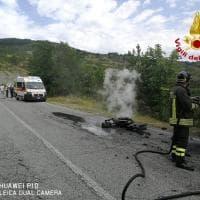 Scontro fra moto a Pieve Santo Stefano (Arezzo), muore dermatologo bolognese
