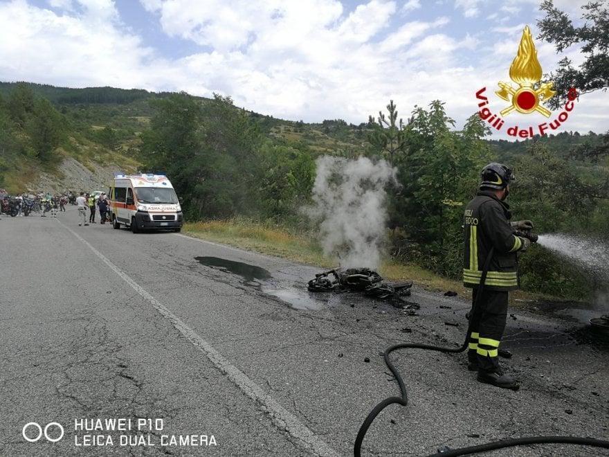 Scontro fra moto a Pieve Santo Stefano (Arezzo), muore derma