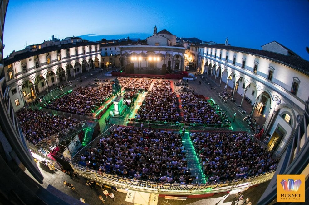 Musart in Santissima Annunziata a Firenze, immagini di un successo