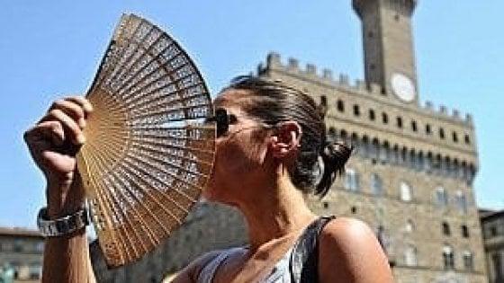 Caldo, a Firenze temperature da bollino rosso fino a domenica