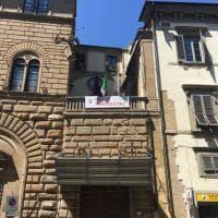 Firenze, uno striscione per Niccolò Ciatti