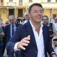 Firenze, al via le riprese del programma tv di Renzi: l'ex premier
