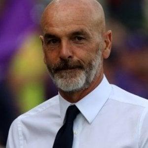 """Fiorentina, Pioli: """"Sarà una squadra spumeggiante, che non si arrende mai"""""""