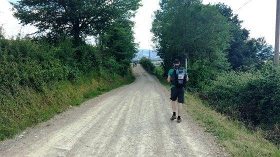 Università di Trento, a lezione sul sentiero della Via degli Dei