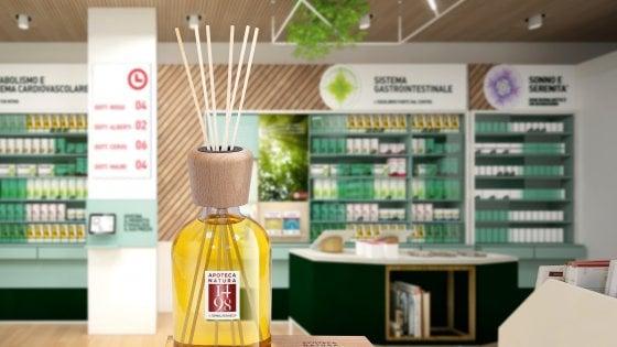 E nelle farmacie Apoteca parte la vendita di una nuova essenza che profumerà l'ambiente di ogni negozio