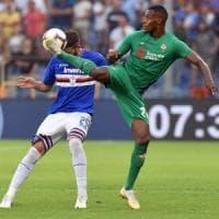 Fiorentina, il tridente non basta: pari con la Samp