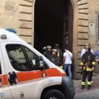Fuga di gas nell'archivio di Stato di Arezzo: due morti