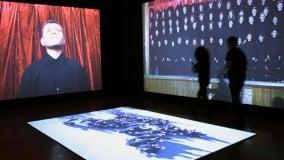A Palazzo Strozzi la vita di Marina Abramovic    foto     video 1    -    2