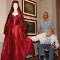Firenze, Zeffirelli in visita alla sua Fondazione