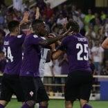 Tris viola al Franchi, la Fiorentina vince  contro la Spal   foto