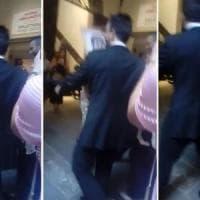 Marina Abramovic aggredita a Firenze: colpita con una tela in testa da sedicente