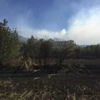 Calci, fiamme vicino alle mura della Certosa ma il monumento è salvo