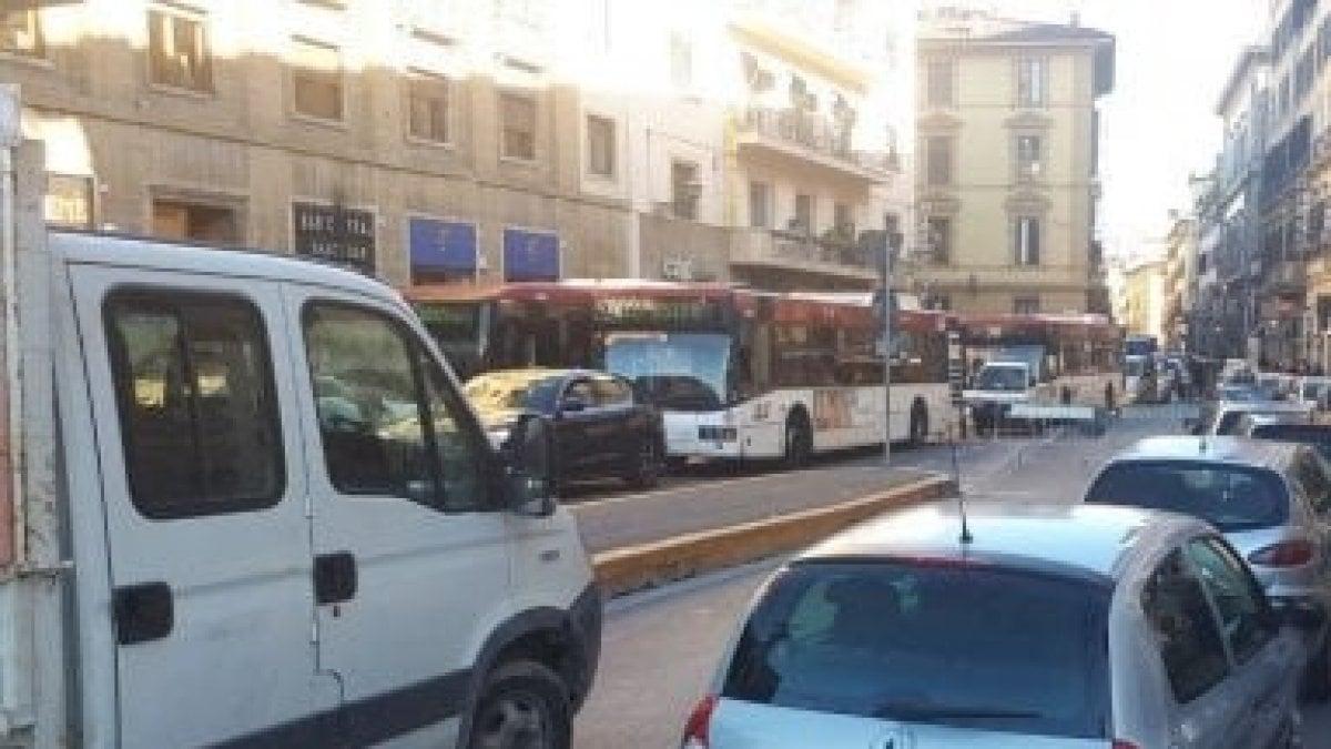 Firenze caos traffico code nella zona di porta al prato for Bagno a ripoli firenze bus