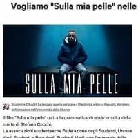 """""""Vogliamo 'Sulla mia pelle' nelle scuole superiori"""": da Firenze la petizione degli..."""