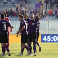 Fiorentina, battuta 2-0 l'Atalanta