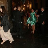 Firenze, nel Salone dei Cinquecento cena e concerto per il compleanno di Moshe Kantor
