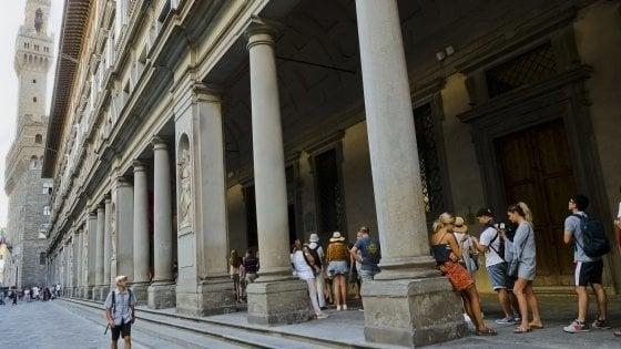 Firenze, Galleria degli Uffizi, un algoritmo farà sparire le code