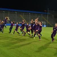 Il trionfo della Fiorentina Women's