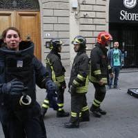 Firenze, falso allarme bomba, arrivano l'artificiera e il robottino
