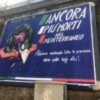 Firenze, manifesto contro la politica del governo sui migranti