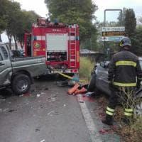 Maxi incidente nel Pisano, quattro auto coinvolte e cinque feriti