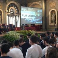 Firenze, il benvenuto alle matricole in Palazzo Vecchio