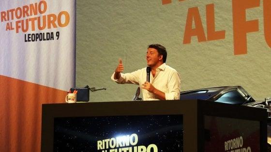 """Leopolda, Renzi chiude e lancia i comitati civici: """"Ripartiamo insieme per combattere un governo di cialtroni"""""""