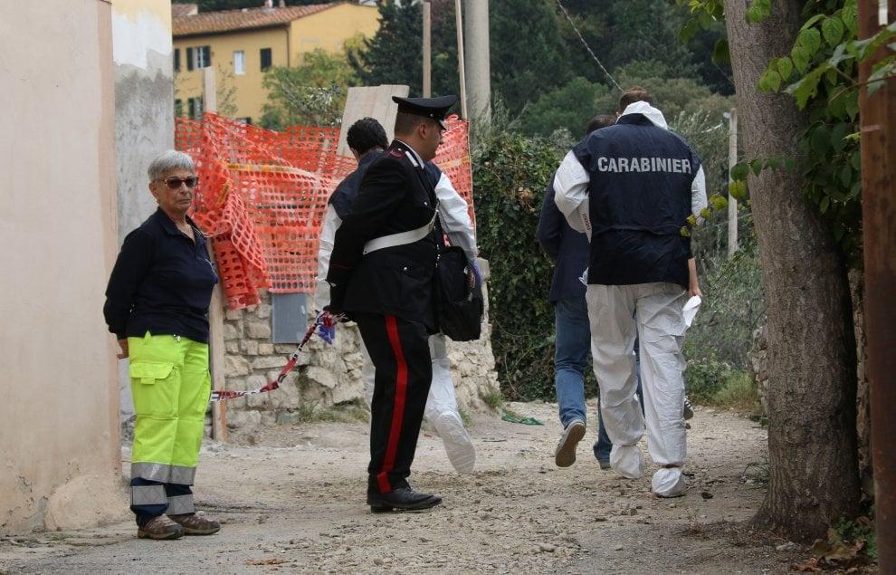 Sesto fiorentino (Firenze) duplice omicidio in una colonica